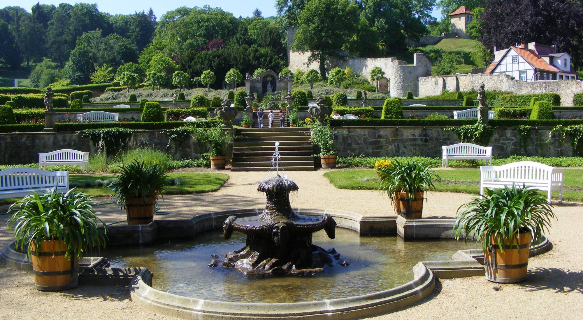 Terrassengarten Blankenburg