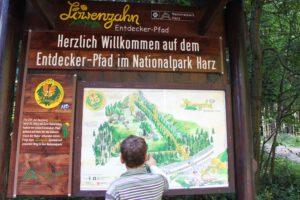 Löwenzahnpfad Eingang
